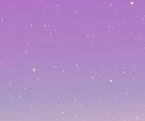 iphone, purple, and sky image