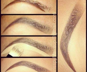 eyebrows, makeup, and how to image