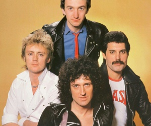 Freddie Mercury, rock, and roger taylor image