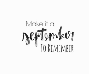 September, autumn, and quotes image