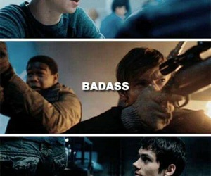 j, newt, and the maze runner image