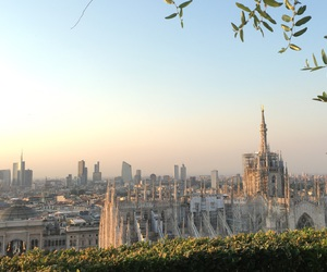 the view, terrazza, and milano image