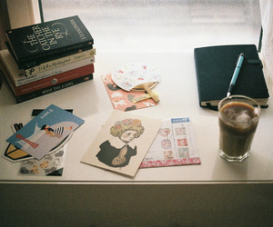 alternative, book, and coffee image