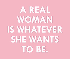 quotes, woman, and pink image