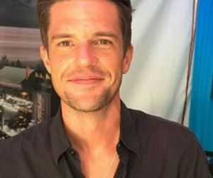 brandon flowers, damn, and Hot image