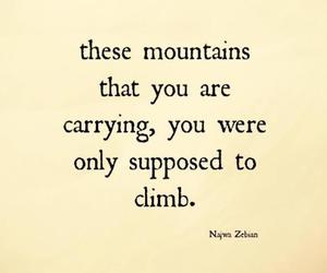 quotes and mountains image
