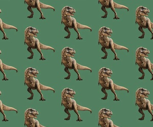 aesthetic, dinossaur, and patterns image