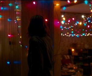 stranger things, aesthetic, and lights image