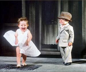 babies, vintage, and people image