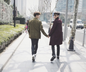yaoi and korean couple image