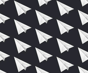 black, cool, and origami image