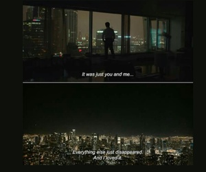alone, city, and her image