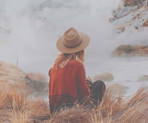 fall, girl, and tumblr image