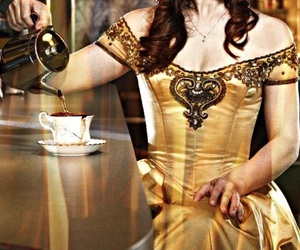 once upon a time, belle french, and ladysuzanne image