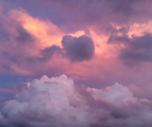 clouds, nature, and aesthetic image