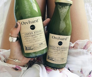 green, drink, and healthy image