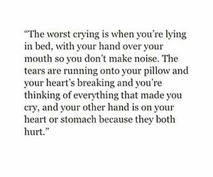 cry, hurt, and pain image