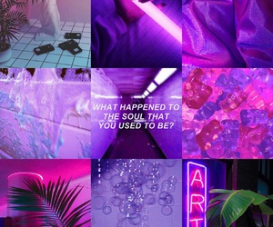 aesthetic, mood, and neon image