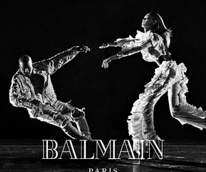 Balmain, elegant, and fashion image