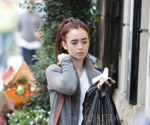 lily collins and lily image