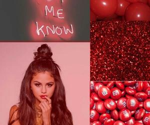 red, lockscreen, and selena image
