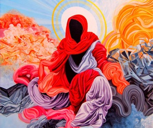 robe, robes, and saint image
