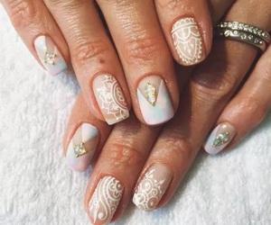 colour, girl, and nail art image