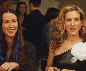 alanis morissette, Carrie Bradshaw, and sarah jessica parker image