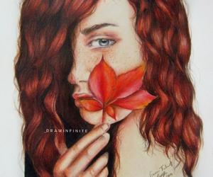 art, artist, and autumn image