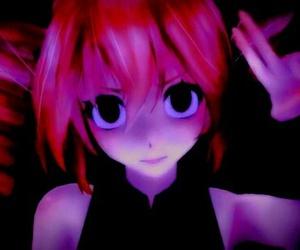 anime girl, mmd, and teto image