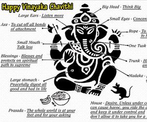 Ganesha, ganesh chaturthi, and ganesh chaturthi wishes image