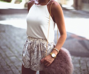 classy, white, and outfit image