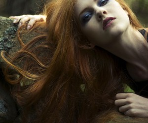 hair, nature, and pale image