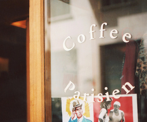 coffee, vintage, and parisien image