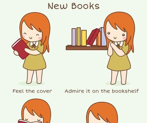 books, book lover, and book image