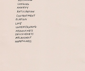 feelings, list, and quotes image
