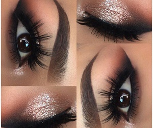 beautiful, eyes, and brows image