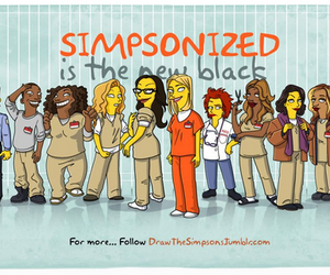simpson, netflix, and orange is the new black image