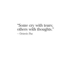 quotes, thoughts, and crying image