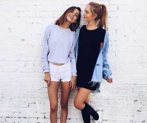 friends, outfit, and bff image