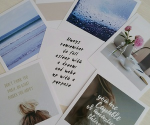 photos, polaroid, and quotes image