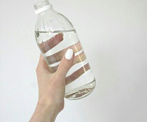 water, white, and pale image