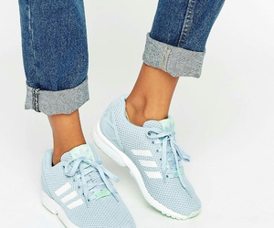 baby blue, sport, and adidas image