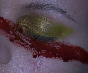 aesthetic, blood, and eyes image