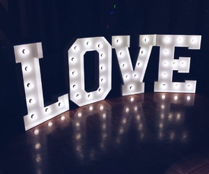 glow, letters, and lights image