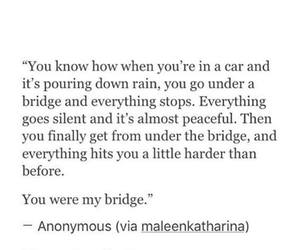 bridge, broken, and car image