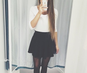 black, blondie, and blouse image