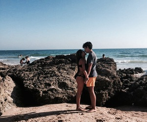 amor, beach love, and goals image