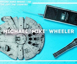 stranger things, mike wheeler, and finn wolfhard image
