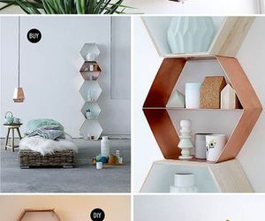 bedroom, diy, and shelves image